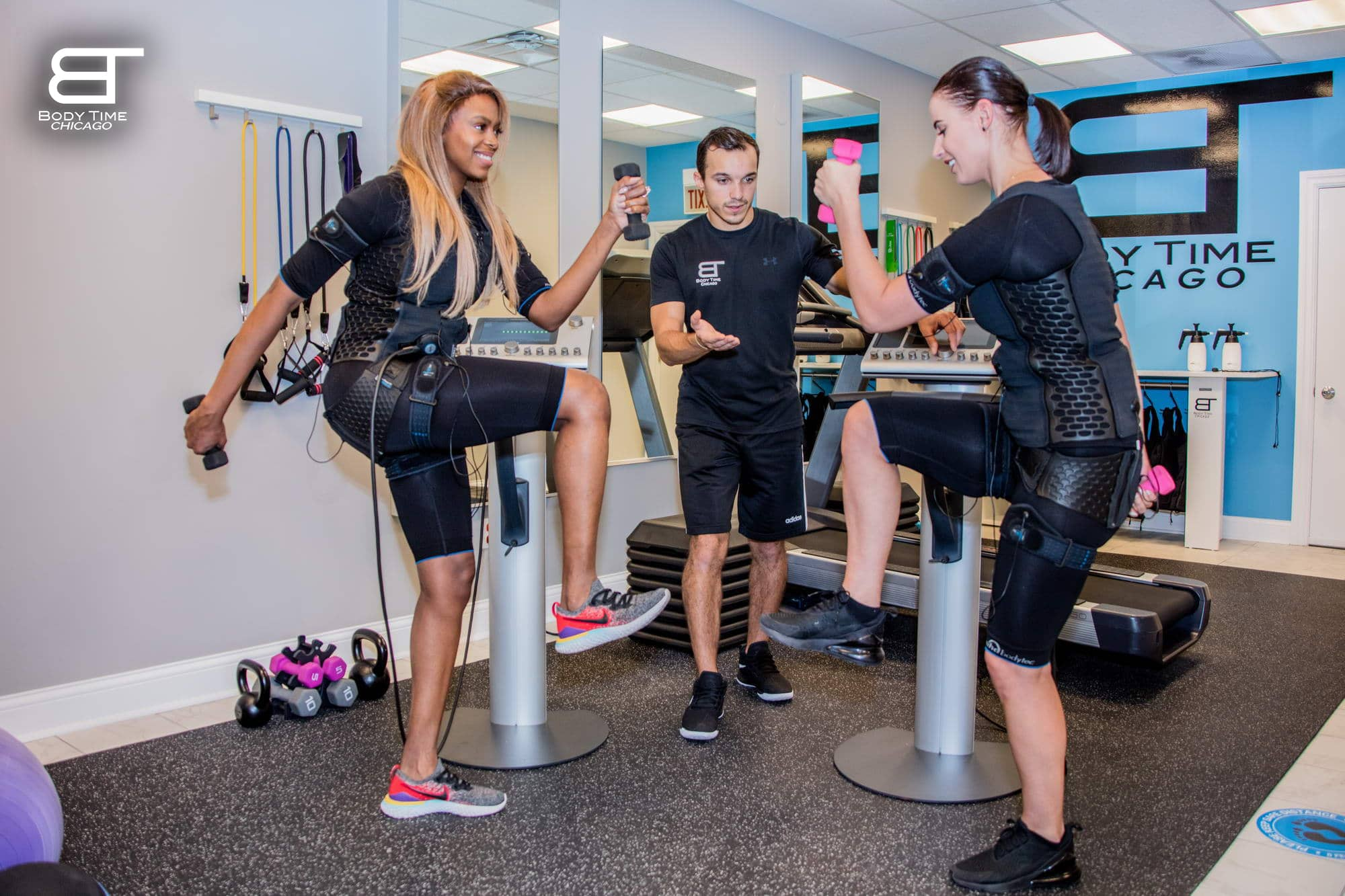 Physical Fitness Workout with EMS Workout -Body Time Chicago