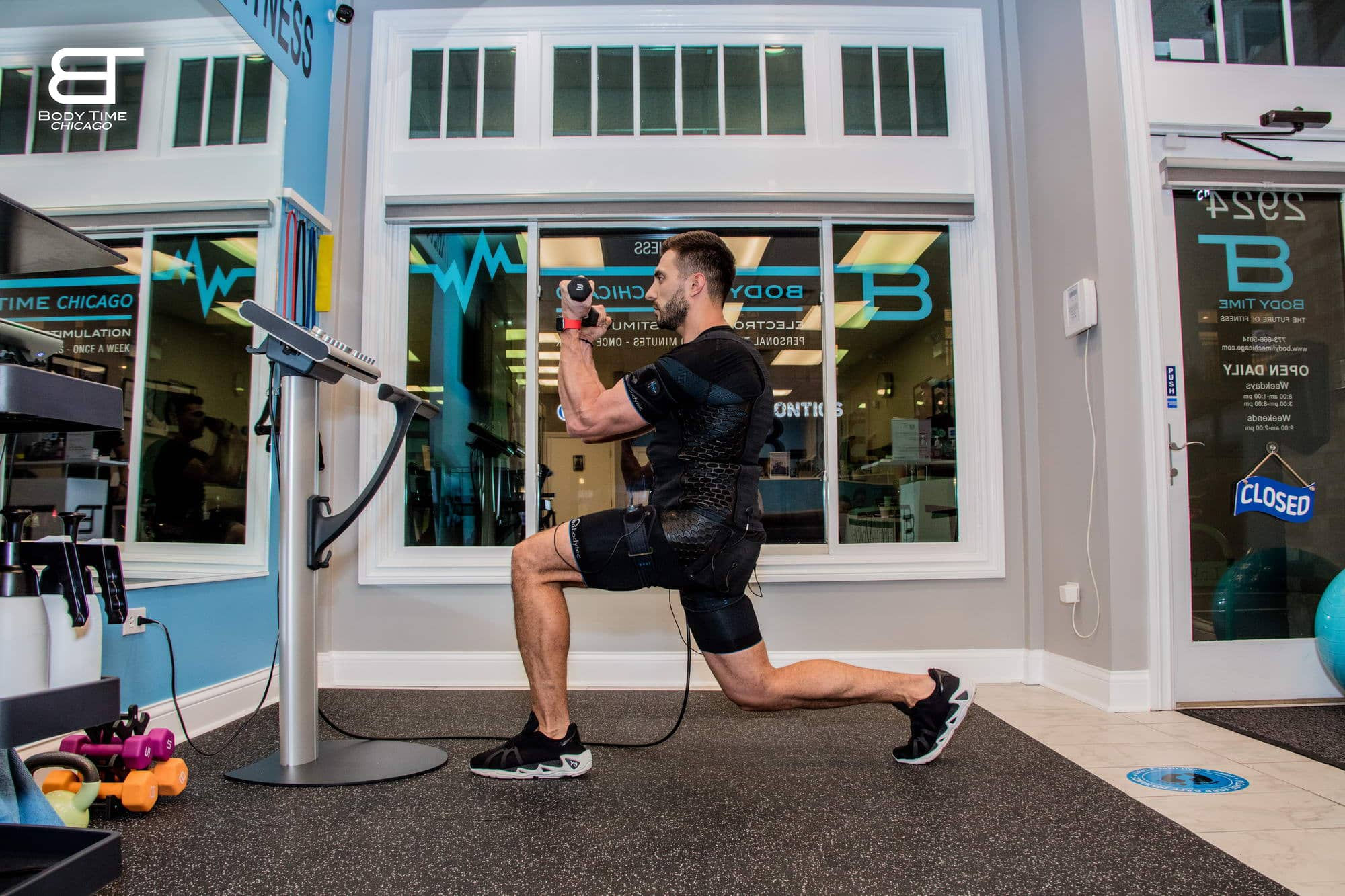 Increase Muscle Strength EMS Training -Body Time Chicago
