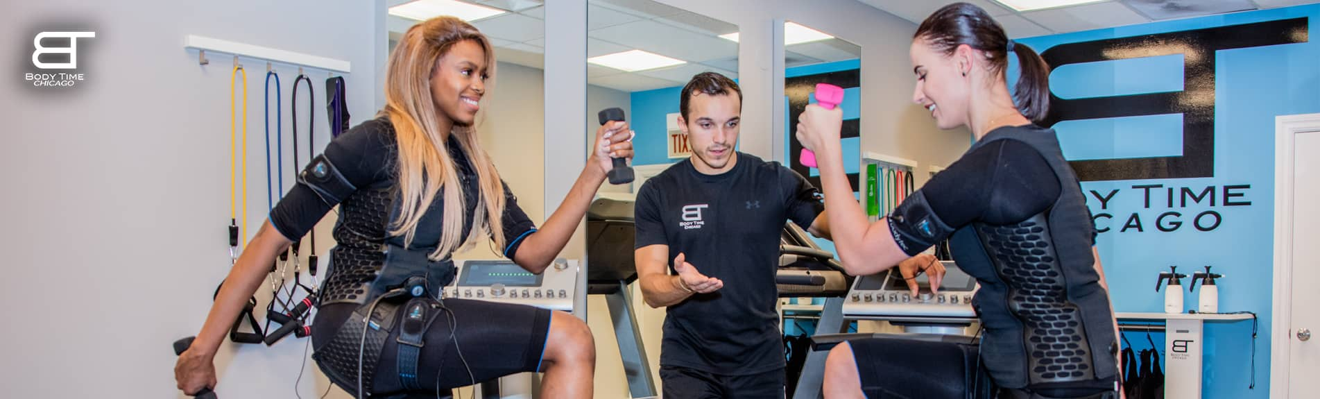Personal Fitness Training with EMS Workout -Body Time Chicago