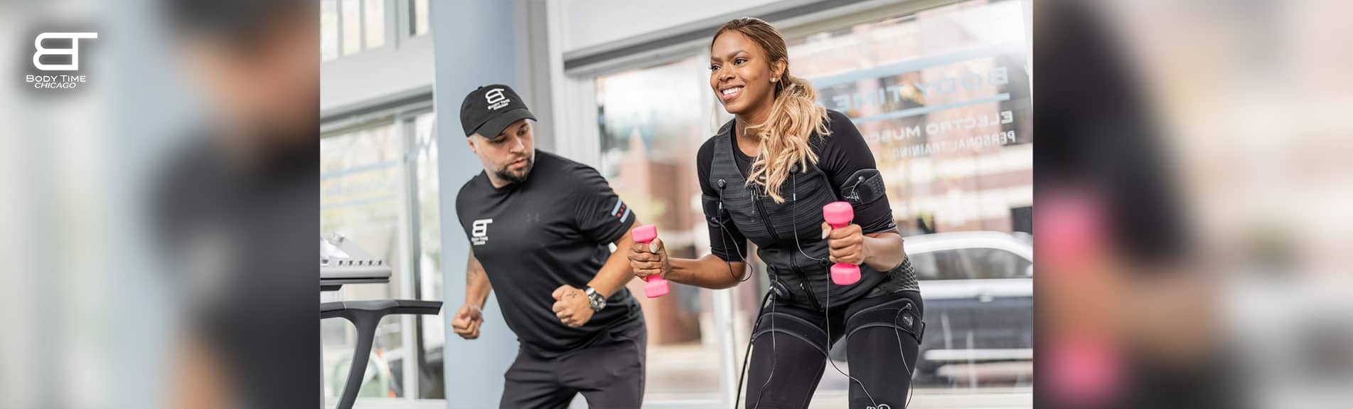 Body Toning with Fast EMS workout in Chicago -Body Time Chicago